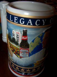 Stein A Legacy of Quality August A Busch Anheuser Busch 2005