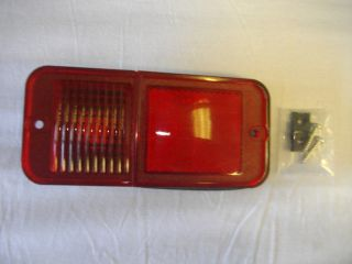 1968 1972 Chevrolet / GMC Truck Rear Marker Lamp, Standard (Red)