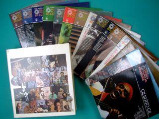 10 NOVA HISTORIA DA MUSICA POPULAR BRASILEIRA 5 BOXES W/ 75 ALBUMS