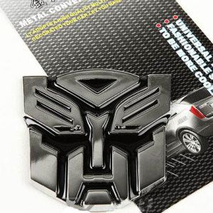 New Car decor Metal 3D Decal Emblem 3M Transformer Autobot Auto Car