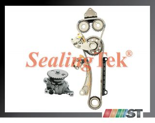 J23A Engine Timing Chain Kit w Oil Pump Suzuki Car Parts Gear