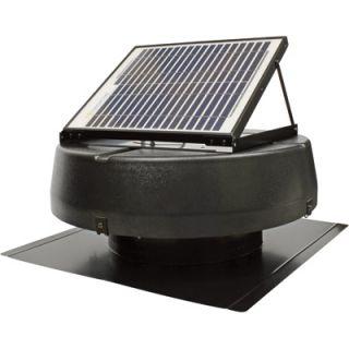 Sunlight Solar Powered Attic Fan  10W, Ventilates 1350 Sq. ft