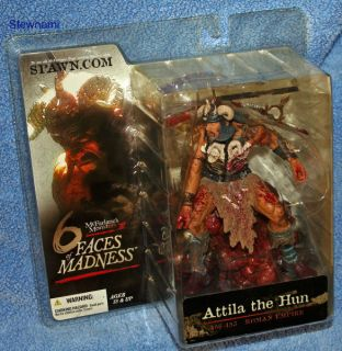Six Faces of Madness Attila The Hun Bloody Figure Maniacs