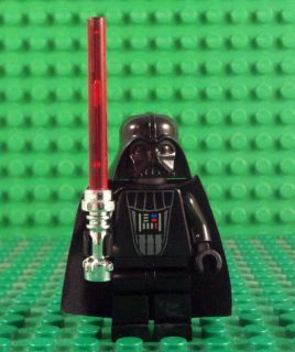 Lego Star Wars Minifigure Darth Vader with Lightsaber New from magnet