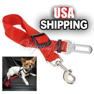 Cat Dog Pet Adjustable Car Vehicle Safety Seatbelt Seat Belt Harness
