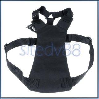 Black Pet Dog Car Safety Seat Belt Harness Walking L