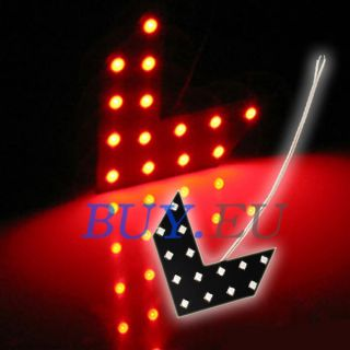 Car 14 LED SMD Arrow Light Side Mirror Turn Signal