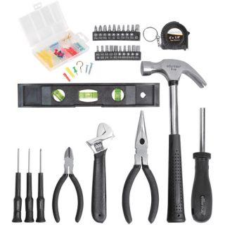 BOYS Essentials 32 Piece Tool Set Black W/ BAG FOR 7+ REAL TOOLS TO