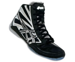 Asics Split Second 8 Wrestling Shoe Black Silver J001Y 9093