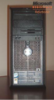 Dell Optiplex GX745 Core 2 Duo 4GB RAM 500GB HDD DVD RW Windows 7