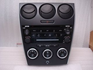 MAZDA 6 Radio CD Player 6 Disc Changer Stereo Auto Climate Control OEM