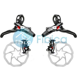 New 2013 SRAM Avid Elixir X0 X.0 XO Hydraulic Disc Brake Set w/ 160mm