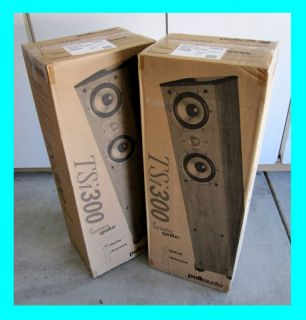 Polk Audio TSI300 Tower Speakers TSI 300 Black Pair New 747192114947