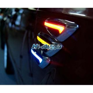 New fashionable car LED Side Marker Turn signal Light Blade Yellow