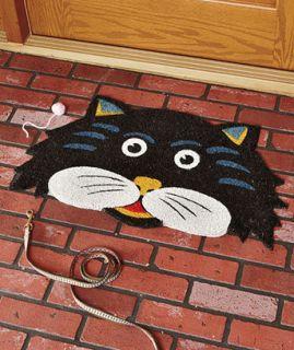 Shaped Fall Doormat Halloween Fall Seasonal Outdoor Yard Decor
