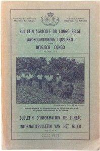 Bulletin Agricole Du Congo Belge Africa 1953 Ineac Belgian Congo