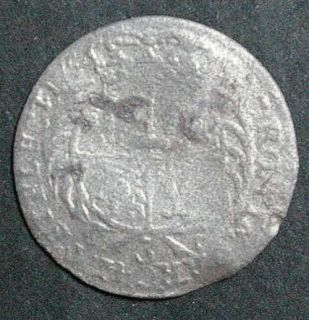 Poland August III 3 Grossus 1754 Very RARE Silver Coin