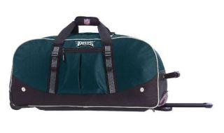 Athalon Philadelphia Eagles NFL 29 Wheeled Duffel Bag 160PHI New