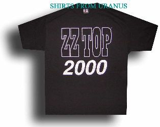 ZZ Top New XL Black Concert Rock Music Band T Shirt Tee