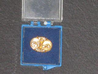 RCA Work Service Awards 10K Gold 10 Year Pinbacks Pin