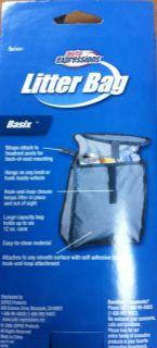 Axius Auto Expressions Car Litter Trash Bag Grey Large Capacity New