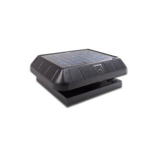SunRise Solar Attic Vent Fan 15 Watt Curb Base Solar Fan W/ Thermostat