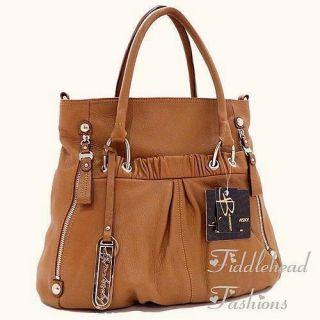 Makowsky Tote Bag Glove Leather Natasha Large Crossbody Satchel