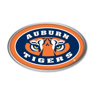 Auburn Tigers War Eagle Color Chrome Auto Emblem Decal Football