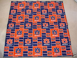 Auburn University Alabama Tigers Fabric Bandana Dog