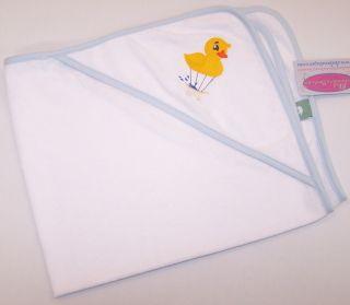 Rubber Duckie Bathtub Hot Air Balloon Baby Bath Towel