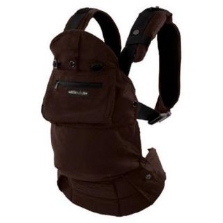 Organic 5 Position Baby Carrier in Brown Earth L2202 New