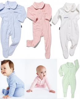 Bonds Baby New Wondersuit Onsie Boys Girl Pink Blue White Size 0000