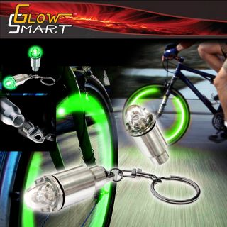 BIKE CAR TYRE TIRE WHEEL VALVE STEM CAP MOTROCYLE LED TIRE LIGHT