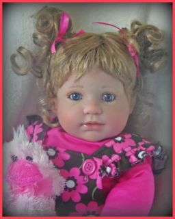 Aspen Gabrielle Reborn Berenguer Baby Girl Doll OOAK