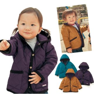 Cute Kids Baby Boys Girls Hooded Coat Toddler Two Color Jacket Hoodies