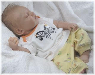 Reborn Baby Boy Doll Max Soft Vinyl Kit 3 4 Limbs Limited Edition