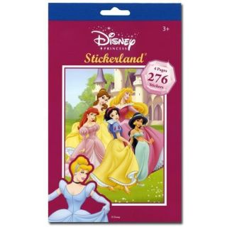 276 Disney Princesses Reward Stickers Book Party Favors
