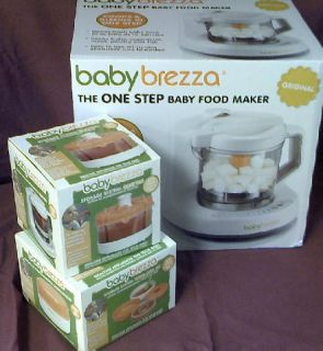 Brand New New Baby Brezza Food Maker with Food Storage Accesories