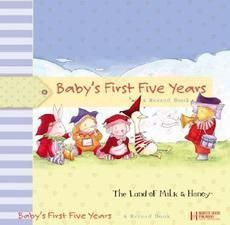 Babys First Five Years A Record Book New 0736915435