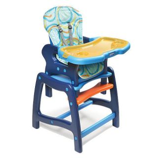 Badger Basket Envee High Chair Booster Seat Table Chair