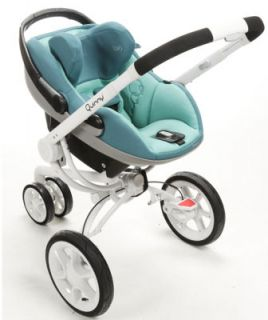 Maxi Cosi Prezi Air Protect Infant Baby Car Seat w Base Reliant Blue