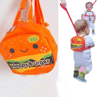 Lovely Baby Toddler Safety Harness Backpack Strap Walking Wings Happy