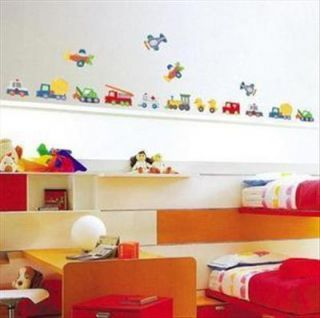 Wall Decal Vinyl Decor Sticker Transport Car Nursery