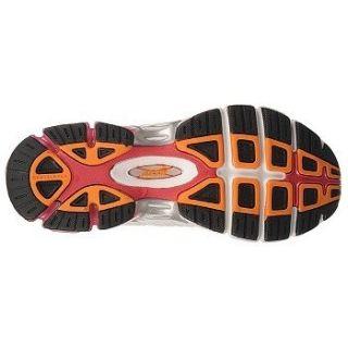 Avia A1384 Womens Training Shoe Sneaker White Dark Pink Orange