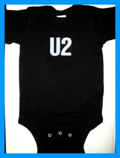 U2 Bono Infant Baby Onesie Rock 360 Tour T Shirt New