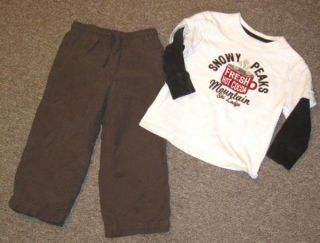 gymboree cargo pants baby gap ski lodge top boy 3