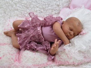 STUNNING REBORN VICTORIA AUER BIRACIAL ETHNIC BABY GIRL DOLL ARTFUL
