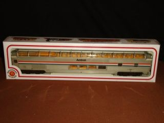 HO Scale Bachmann Amtrak Domed Passenger Toy Train Car New