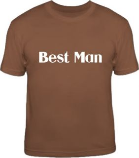 Best Man Wedding Stag Night Bachelor Party T Shirt