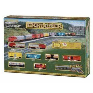 Bachmann Trains 24008 Explorer Ready to Run N Scale Train Set
